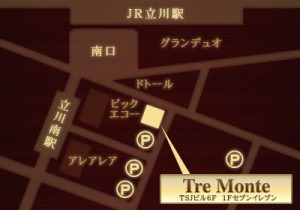 トレモンテ地図